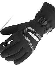 cheap -Ski Gloves Men's Snowsports Full Finger Gloves Winter Warm Cloth Coating Ski / Snowboard Hiking Outdoor Exercise