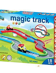 cheap -YIJIATOYS Christmas Flags / Marble Run Train Holiday / Fantacy / Fashion Animals / Parent-Child Interaction ABS+PC All Kid's / Toddler Gift 22 pcs