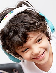 cheap -Bamini Happy Child Stereo Headphones Over-ear Wired Low Decibel Hearing Early Childhood Education To Protect the Hearing with Microphone and Volume Control Earphone