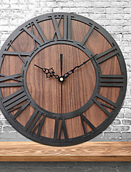cheap -Retro Mute Wall Clock, Silent Vintage Large Hanging Clock Creative Industrial Wind Decorationwall Sticker Living Room Bedroom Home