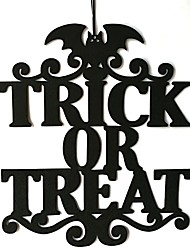 cheap -Holiday Decorations Halloween Decorations Halloween Entertaining Cool Black 1pc