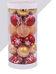 cheap -Christmas Ornaments Holiday Plastic Mini Cartoon Christmas Decoration