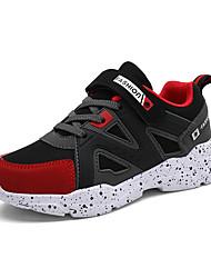 abordables -Garçon Confort Polyuréthane Chaussures d'Athlétisme Grands enfants (7 ans et +) Blanche / Rouge / Bleu Automne