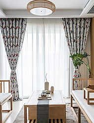 cheap -Animal Design Privacy Two Panels Curtain Bedroom   Curtains