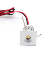 cheap -1Pc 1W DC12V  Mini LED Cabinet Lights 12V Downlight 15mm Cut Hole Ceiling Recessed Lamp IP65 For Jewelry Cabinet Display