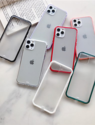 cheap -Case For Apple iPhone 11 / iPhone 11 Pro / iPhone 11 Pro Max Frosted Back Cover Solid Colored Acrylic
