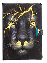 cheap -Case For Apple iPad Air / iPad 4/3/2 / iPad Mini 3/2/1 with Stand / Flip / Pattern Full Body Cases Animal / Cartoon PU Leather