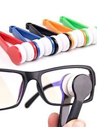 Недорогие -5шт очки очки очиститель для очков щетка из микрофибры очки очиститель щетка инструмент для очистки