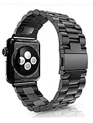 Недорогие -Нержавеющая сталь Ремешок для часов Ремень для Черный / Серебристый металл / Золотистый 17см / 6,69 дюйма 2.3cm / 0.91 дюймы