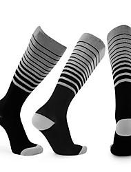 Недорогие -Футбольные носки Спортивные носки Футбольные Носки Хлопок Муж. Простой Носки Длинные носки Футбол Противозаносный Износоустойчивый Non Slip 1 пара