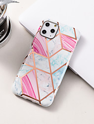 cheap -Case For Apple iPhone 11 / iPhone 11 Pro / iPhone 11 Pro Max Pattern Full Body Cases Geometric Pattern / Marble TPU / Plastic