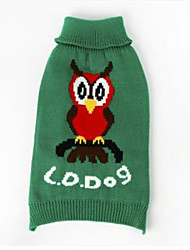 cheap -Dog Sweater Dog Clothes Animal Cotton Costume For Spring &  Fall Winter Men's Women's Casual / Daily
