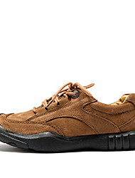 cheap -Men's Comfort Shoes PU Fall & Winter Athletic Shoes Hiking Shoes Black / Brown / Green