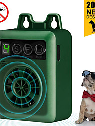 cheap -Pet Dog Ultrasonic Bark Control Device Upgraded Rechargeable Digital Bark Control Outdoor Anti Barking Dog Bark Control Sonic Bark Deterrents Silencer Stop Barking