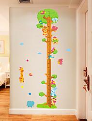 Недорогие -ай762 жираф животное большое дерево высота стикер детская комната спальня гостиная фон украшения съемный стикер