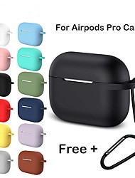 cheap -Silicone Case For Apple Airpods Pro Earphone For AirPods Pro Case Wireless Bluetooth Headset Cover Shockproof Bag For Airpods 3