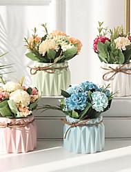 Недорогие -искусственные цветы 5 ветка классическая вечеринка европейские растения настольный цветок