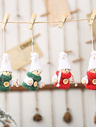 cheap -Ornaments Cloth 2pcs Christmas