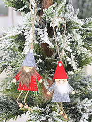 cheap -Christmas Tree Decoration Nonwoven Fabric 1 Piece Christmas