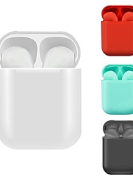 cheap -Glossy iColor12 TWS True Wireless Earbuds Bluetooth 5.0 Headphones Touch Control Smart Auto Pairing Mini Earphones for Android iOS Smartphone