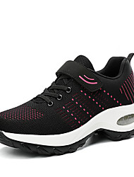 cheap -Women's Athletic Shoes Creepers Round Toe Tissage Volant Sporty / Casual Running Shoes / Fitness & Cross Training Shoes Spring & Summer / Fall & Winter Black / Purple / Dark Blue