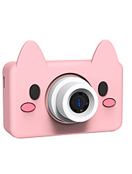 cheap -8.0MP HD Video Camera Portable Cartoon Digital Camera Camcorder Digital Photo Camera with LCD Screen Kids Camera Childrens Toy