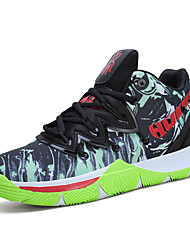 cheap -Men's Comfort Shoes Mesh Fall / Fall & Winter Sporty Basketball Shoes Running Shoes / Basketball Shoes Non-slipping Green / Red / Blue