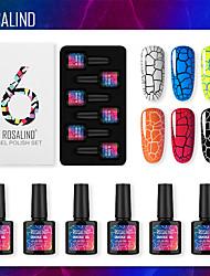 Недорогие -6 pcs Лучшее качество Элегантный стиль Мода фестиваль Лак для ногтей для Маникюр