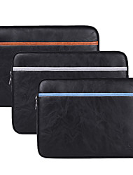 cheap -13.3 Inch Laptop / 14 Inch Laptop / 15.6 Inch Laptop Sleeve PU Leather Retro / Leather for Business Office for Colleages & Schools for Travel Water Proof Shock Proof