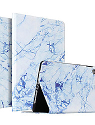 cheap -Case For Apple iPad Air / iPad 4/3/2 / iPad Mini 3/2/1 Shockproof / Dustproof / Ultra-thin Full Body Cases Marble PU Leather / TPU