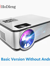 cheap -HoDieng HD09 Android Projector 1280*720P Support 4K Videos Via HDMI Home Cinema Movie Video Projector MINI LED Projector  Support 4K video Beamer C9 Q9