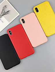 cheap -Case For Apple iPhone XS / iPhone XR / iPhone XS Max Shockproof Back Cover Solid Colored TPU