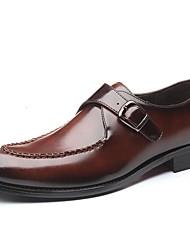 baratos -Homens Sapatos formais Couro Ecológico Primavera Verão Mocassins e Slip-Ons Preto / Vermelho / Azul