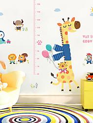 cheap -SK9165 Giraffe Animal Height Sticker Child Room Bedroom Living Room Background Decorative Sticker
