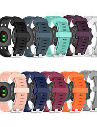 cheap -Watch Band for Garmin forerunner 45 / forerunner 45S / Garmin Swim 2 Garmin Classic Buckle Silicone Wrist Strap