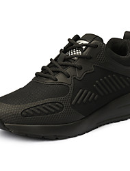 cheap -Unisex Running Shoes Sneakers Hiking Shoes Lightweight Breathable Anti-Slip Sweat-wicking Running Hiking Basketball Autumn / Fall Spring Black