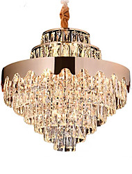 cheap -19 Bulbs QIHengZhaoMing 60 cm Chandelier Metal Electroplated Modern 110-120V / 220-240V