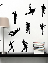 cheap -Decorative Wall Stickers - Plane Wall Stickers Game / Shapes Bedroom / Study Room / Office