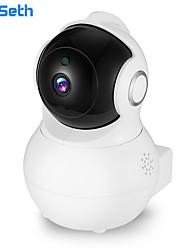 Недорогие -Didseth 1080p купольная камера видеонаблюдения 2-мегапиксельная домашняя ip-камера двусторонняя передача звука ночного видения обнаружение движения babay монитор yi iot
