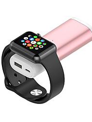Недорогие -Беспроводное зарядное устройство USB зарядное устройство USB беспроводное зарядное устройство 2 порта USB 2 DC 5 В для Apple Watch серии 5 / серии 4 / Apple часы серии 5/4/3/2/1 / Apple часы серии 3
