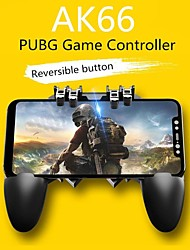 "cheap -AK66 Mobile Game Controller with L1R1 L2R2 Triggers, PUBG Mobile Controller 6 Fingers Operation, Joystick Remote Grip Shooting Aim Keys for 4.7-6.5"" iPhone Android iOS Cellphone Gamepad Accessories"