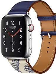 cheap -Watch Band for Apple Watch Series 4 / Apple Watch Series 4/3/2/1 / Apple Watch Series 3 Apple Classic Buckle / Modern Buckle / Business Band Genuine Leather Wrist Strap