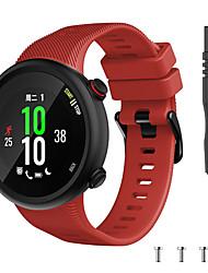 cheap -Watch Band for Garmin forerunner 45 / forerunner 45S Garmin Sport Band / Modern Buckle / DIY Tools Silicone Wrist Strap