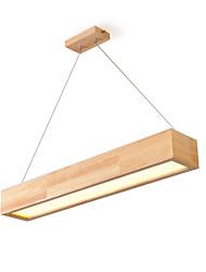 cheap -ZHISHU Novelty Chandelier Ambient Light Painted Finishes Wood / Bamboo Acrylic LED 110-120V / 220-240V Warm White / White / Wi-Fi Smart