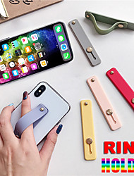 cheap -Finger Ring Holder Silicon Phone Hand Band Holder For iPhone Wristband Strap Push Pull Grip Stand Bracket Wholesale