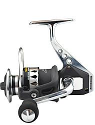 cheap -Fishing Reel Spinning Reel 4.7:1 Gear Ratio+13 Ball Bearings Hand Orientation Exchangable Sea Fishing / Bait Casting / Ice Fishing - RX6000 / Jigging Fishing / Freshwater Fishing / Carp Fishing