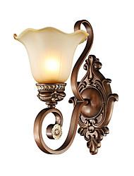 cheap -American Bedroom Sitting Room Setting Wall Lamp Bedside Lamp Corridor Tie Yi Restores Ancient Ways Wall Lamp