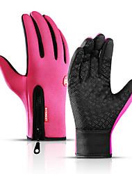 Недорогие -Перчатки для бега / Зимние Полный палец Муж. / Жен. Сохраняет тепло / Сенсорный экран / Водонепроницаемость Бег / Пешеходный туризм / Авто / вело Хлопок / полиэфир / Зима / Противозаносный