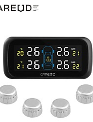 cheap -Car Cigarette Lighter TPMS Tire Pressure Monitor System 4 External Sensor