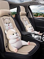 Недорогие -мультипликационная подушка для сиденья автомобиля всесезонный gm чехол для сиденья полный объемный чехол для подушки сиденья автомобиля совместим с подушкой безопасности для подушки безопасности 5